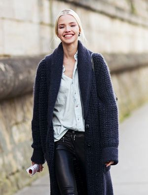Model-Off-Duty Style: 3 Ways To Wear A Maxi Cardigan