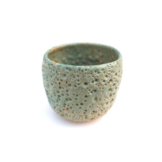 Pilar Wiley Pale Blue Green Meteor Pot