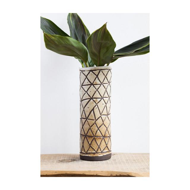 April Napier Tall Ceramic Vase