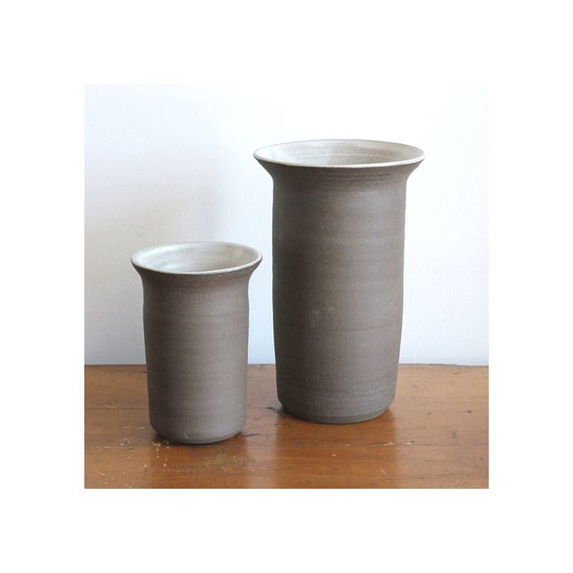 Nickey Kehoe Stoneware Vases and Utensil Holders