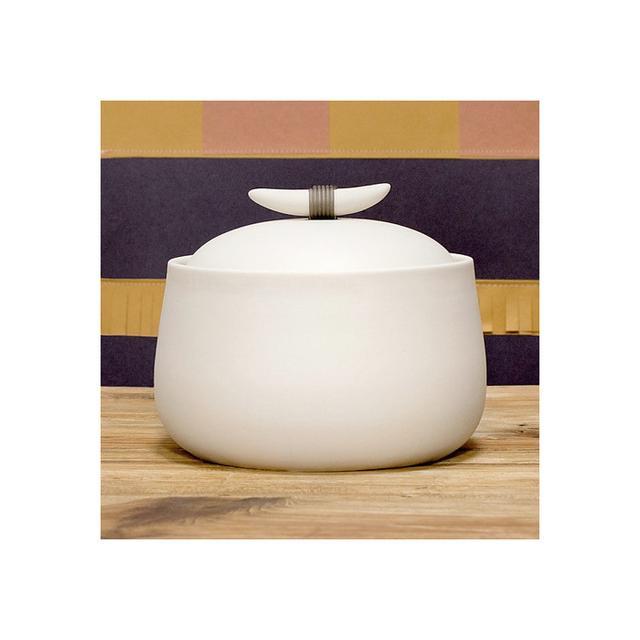 Pigeon Toe Ceramics Horn Handle Jar