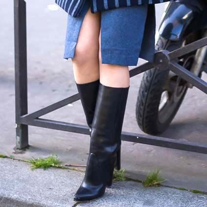 9 of the Most Stylish Wide-Calf Boots