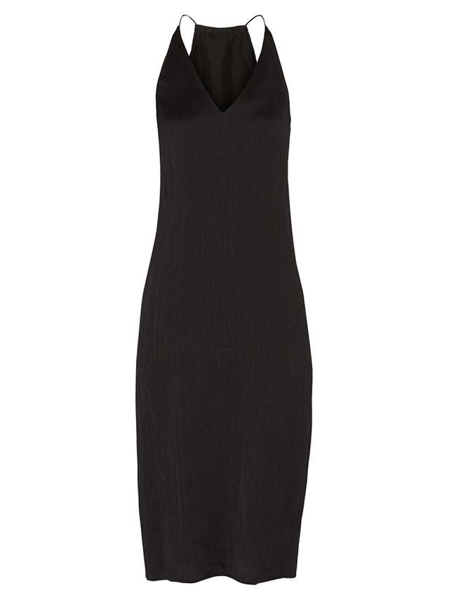 The Row Lahel Plisse Midi Dress