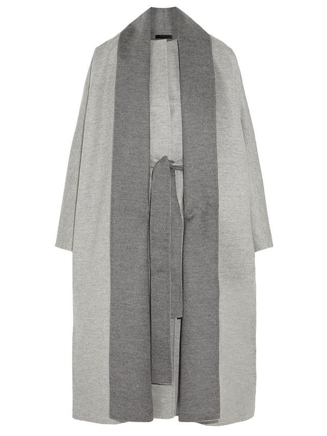 The Row Arnet Brushed Wool-Felt Coat
