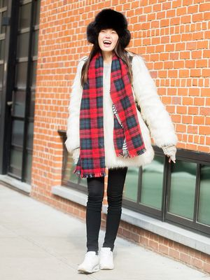 The Pop of Color Your Wintery Ensemble Wants