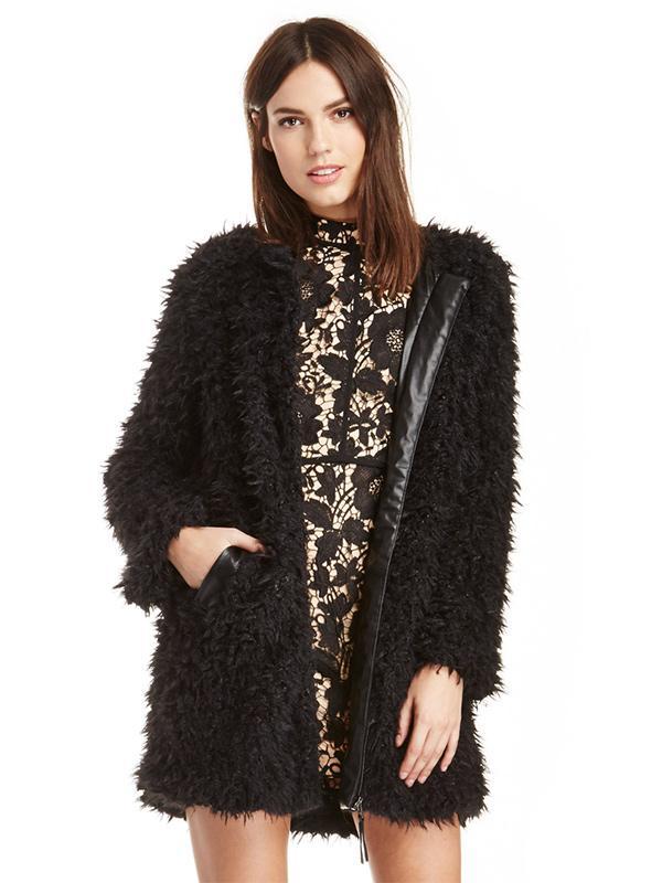 Shilla Evolution Faux Fur Coat