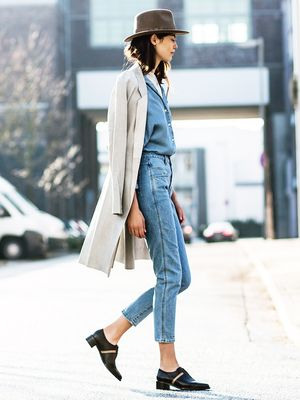 This Denim-on-Denim Look is Painfully Cool