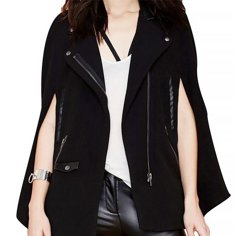 Devon Wool Moto Cape