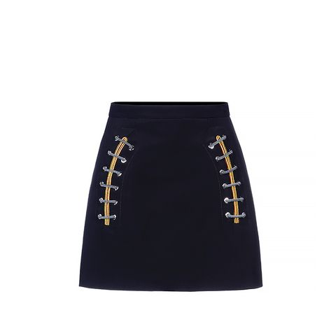 """Shoelace"" Mini Skirt"