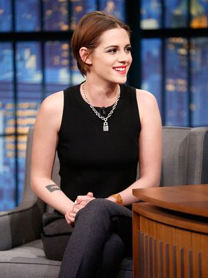 Found It! The Luxe Chain Necklace Kristen Stewart Wears Everywhere