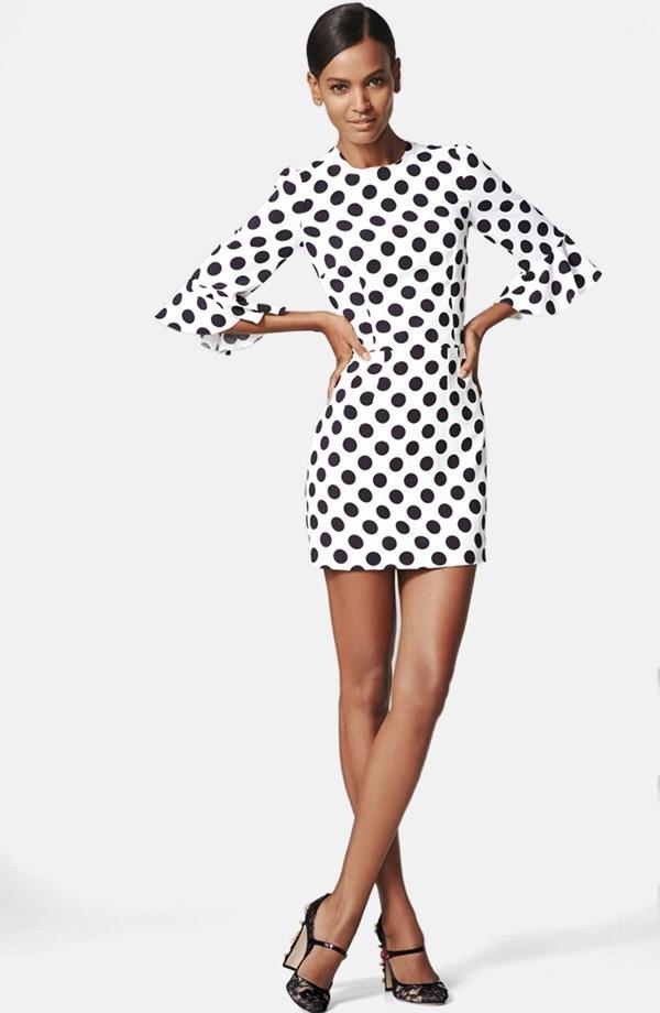 Dolce & Gabbana Polka Dot Cady Dress