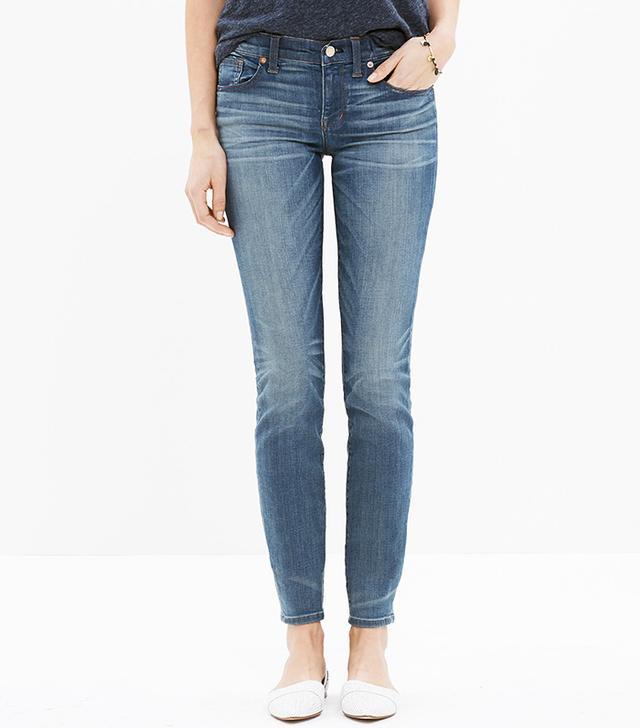 Madewell Skinny Jeans in Silverlake Wash