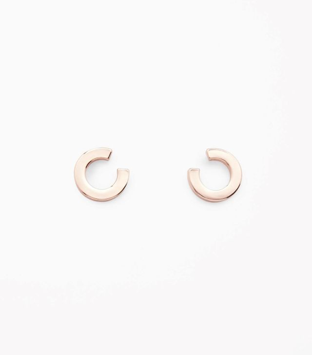 COS Cut-Out Circle Earrings