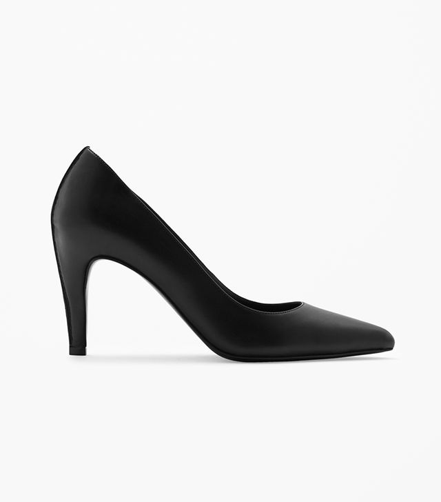 COS Pointed Leather Heels