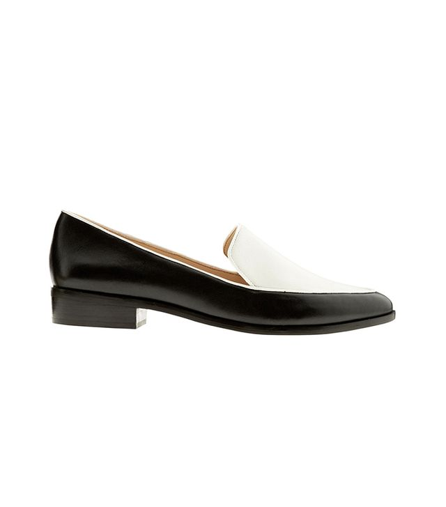 Banana Republic Marlee Loafer in Black Cotton