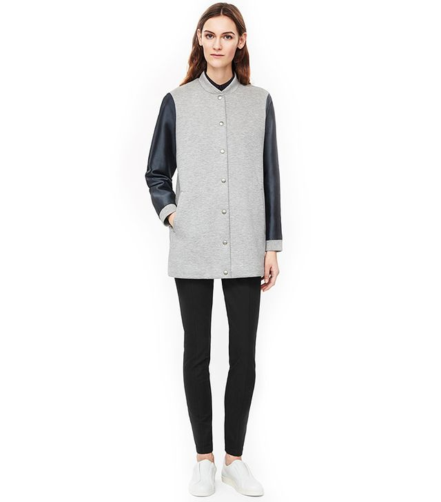 COS Contrast Sleeve Jacket