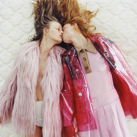 Frederikke Falbe-Hansen and Steffy Argelich for Pop Magazine A/W 2014