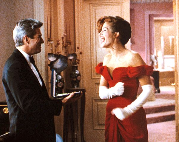 Edward and Vivian in Pretty Woman