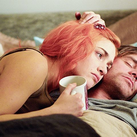 Joel and Clementine in Eternal Sunshine of the Spotless Mind