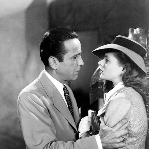 Rick and Ilsa in Casablanca
