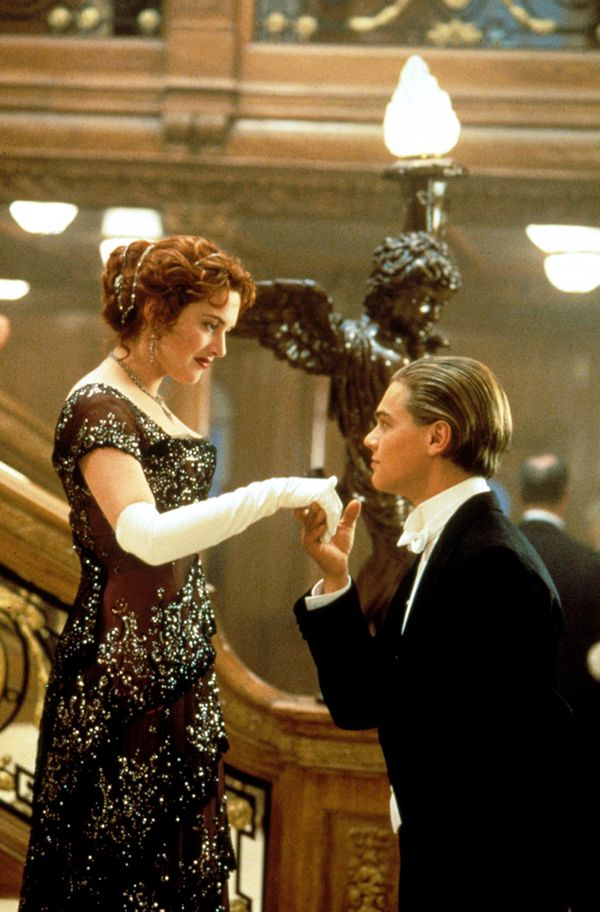 Jack and Rose in Titanic