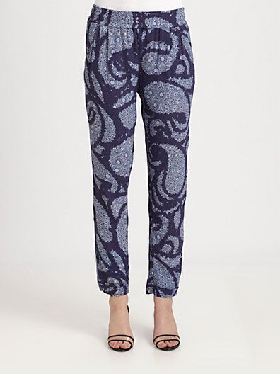Sam & Lavi  Keria Paisley-Print Pants