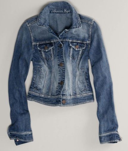 American Eagle  Faded Denim Jacket