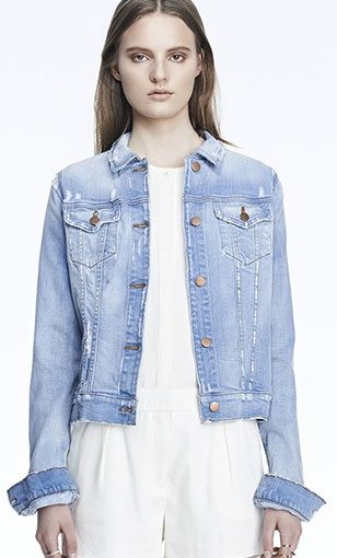 J Brand  403 Destructed Jacket