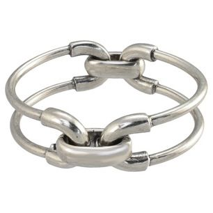 Giles & Brother Giles & Brother Double Cortina Bracelet