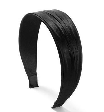 Claire's Silky Black Headband