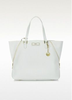 DKNY  Large Saffiano Leather Zip Tote