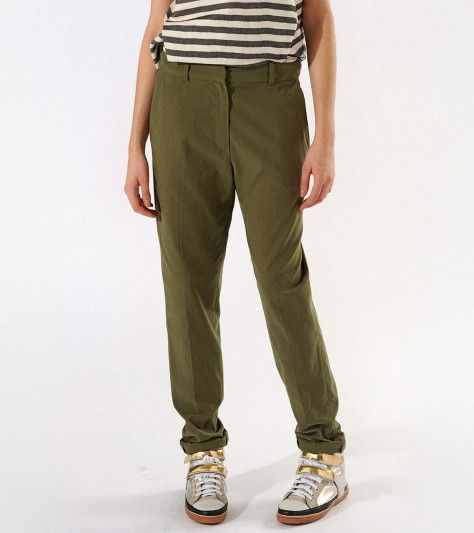 Asperge  Military Trousers