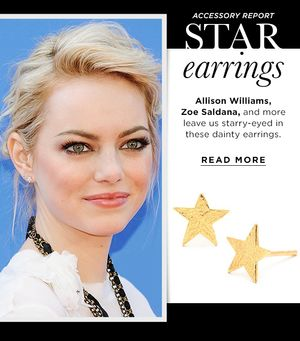 Add Sparkle To Your Look With Star Stud Earrings
