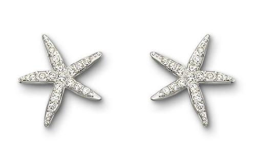 Swarovski Holly Starfish Pierced Earrings