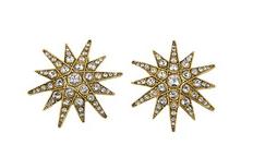 Elizabeth Cole Jewelry Starburst Earrings