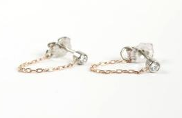 Catbird Chained To My Heart Earrings