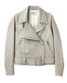Acne Studios Merci Leather Jacket