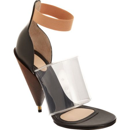 Givenchy Banded Cone Heel Sandals