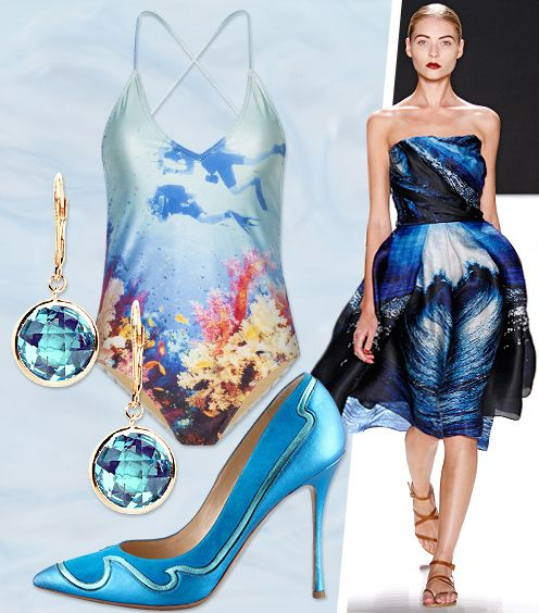 Cool Off With The Season's Chicest Water Prints