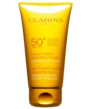 Clarins 50+ SPF Sunscreen for Face
