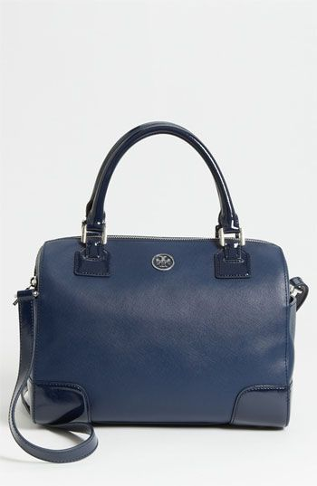 Tory Burch  Robinson Middy Saffiano Leather Satchel