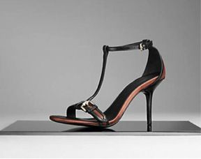 Burberry Burberry Satin Belted Sandals
