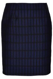 Topshop  Topshop Graphic Check Pencil Skirt by Boutique