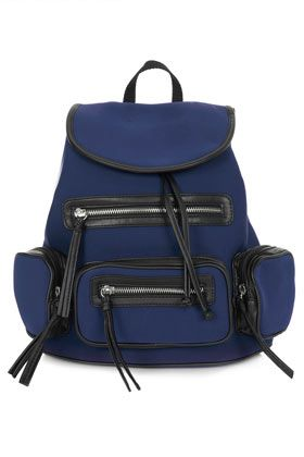Topshop Neoprene Backpack