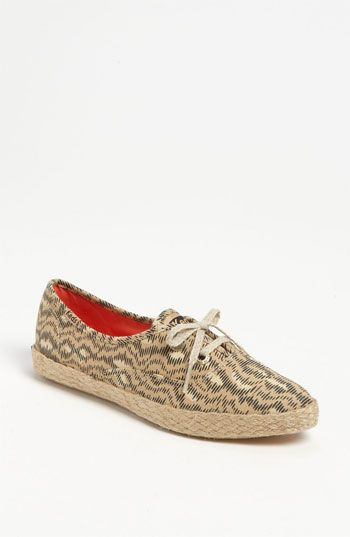 Keds  Pointer Animal Jute Trim Sneakers
