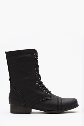Nasty Gal  Fiona Combat Boots