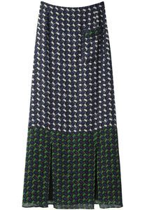 Kenzo  Long Graphic Skirt