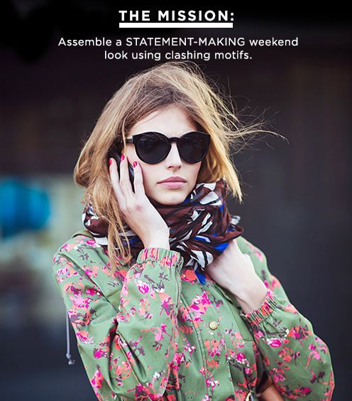 Steal Her Style: Clashing Prints