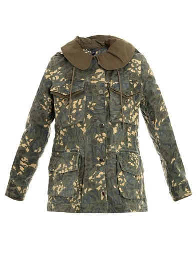 Marc by Marc Jacobs  Camouflage Park Jacket