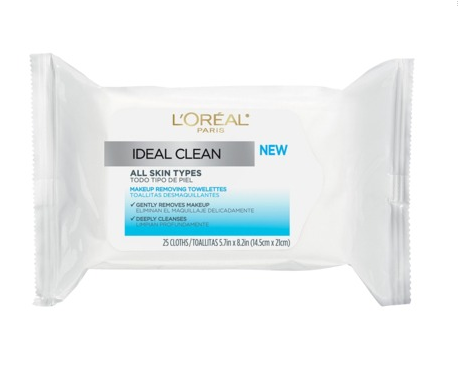 L'Oreal Ideal Clean Towelettes for All Skin Types